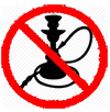 Do not Allow Hookah